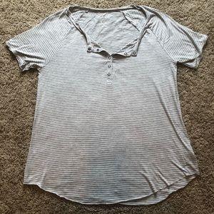 American Eagle Soft & Sexy short sleeve gray tee